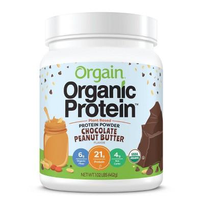 Orgain Organic Protein Plant Based Powder - Chocolate Peanut Butter - 16.3oz