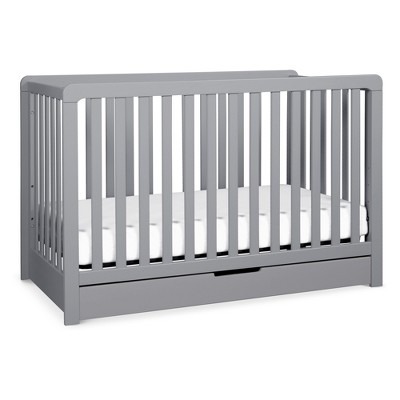 Carter's by DaVinci® Colby 4-in-1 Convertible Crib with Trundle Drawer - Gray