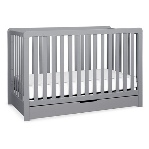 Carter's by DaVinci Colby 4-in-1 Convertible Crib with Trundle Drawer - Gray - image 1 of 4
