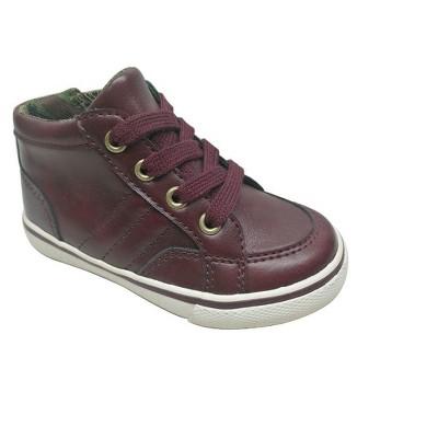 Toddler Boys' Cayden Mid Top Casual Sneakers 6 - Cat & Jack™ - Burgundy