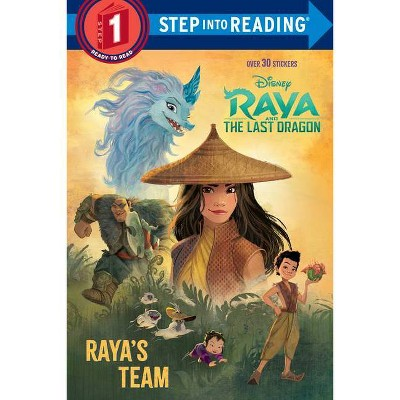 Raya and the Last Dragon Step Into Reading #1 (Disney Raya and the Last Dragon) - (Paperback)