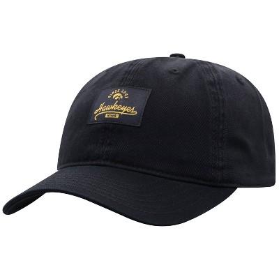 NCAA Iowa Hawkeyes Men's Dez Garment Washed Canvas Hat