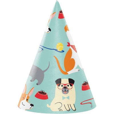 24ct Dog Party Hats
