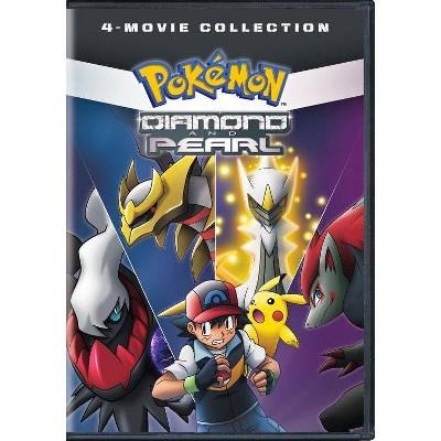 Pokemon Diamond & Pearl: 4-Movie Collection (DVD)(2019)