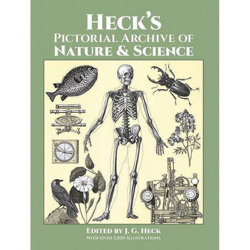 Heck's Pictorial Archive of Nature and Science - (Dover Pictorial Archives) by  J G Heck (Paperback) - image 1 of 1