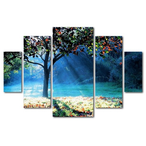 'Rays of Hope' by Beata Czyzowska Young Ready to Hang Multi Panel Art Set - image 1 of 3
