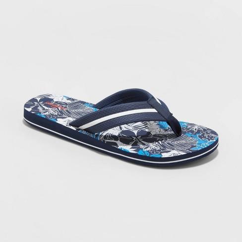 Men's Ronnie Flip Flop Sandals - Goodfellow & Co™ - Navy - image 1 of 3
