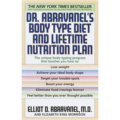 Dr. Abravanel's Body Type Diet and Lifetime Nutrition Plan - by  Elliot D Abravanel & Elizabeth A King - image 1 of 1