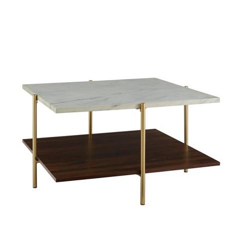 32 Mid Century Square Coffee Table