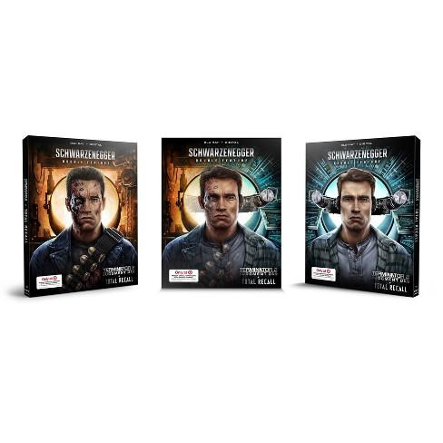 Terminator 2 & Total Recall: Double Pack (Target Exclusive SteelBook) (Blu-ray + Digital) - image 1 of 3