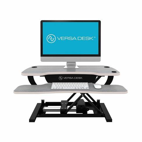 "VersaDesk 30"" Power Pro Electric Powered Standing Desk Riser Converter, Gray - image 1 of 4"