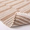 Rossmoor Indoor/Outdoor Plaid Scatter Rug Tan - Threshold™ designed with Studio McGee - image 4 of 4