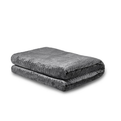 Queen/King 35lbs Weighted Blanket Gray - Gravity