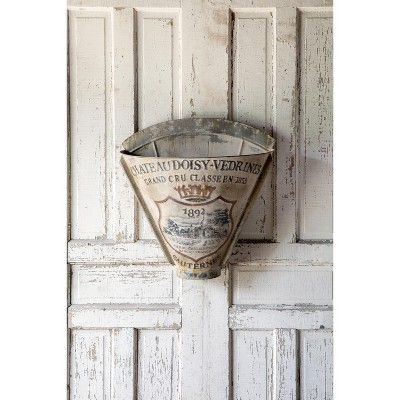 Park Hill Collection French Metal Picking Basket