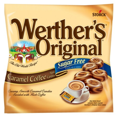 Werther's® Original® Sugar Free Hard Caramel Coffee Candies - 5ct - image 1 of 1