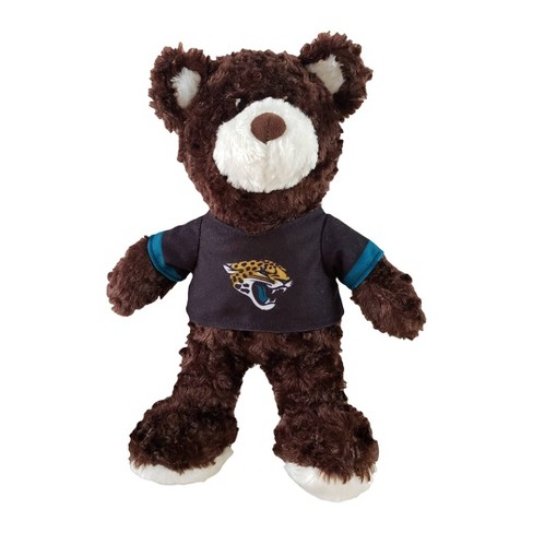 """NFL Jacksonville Jaguars 12"""" Teddy Bear with Jersey - image 1 of 2"""