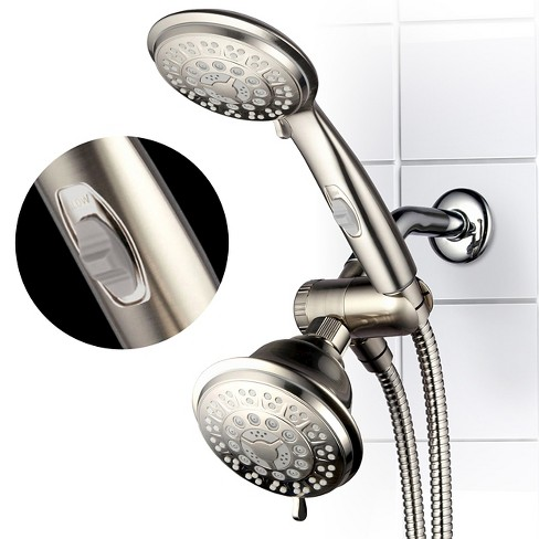 8f784c3c7 Ultra Luxury Combo Shower System Brushed Nickel - Hotelspa   Target