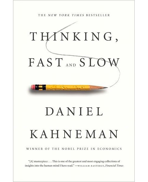 Thinking, Fast and Slow (Reprint) (Paperback) by Daniel Kahneman - image 1 of 1