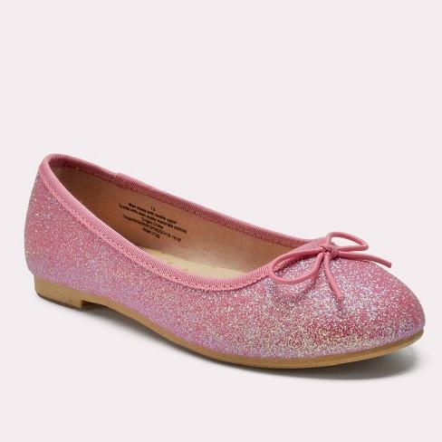 00a54c64f7 Girls' Lesley Glitter Ballet Flats - Cat & Jack™ Pink