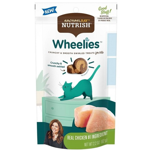 Rachael Ray Nutrish Wheelies Chicken Cat Treat -2.2oz - image 1 of 4