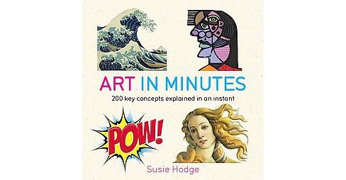 Art in Minutes (Paperback) (Susie Hodge) - image 1 of 1