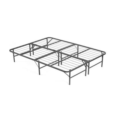 California King Simple Base Bi-Fold Bed Base Black - PragmaBed