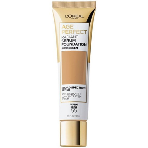 L'Oreal Paris Age Perfect Radiant Serum Foundation with SPF 50 - 1 fl oz - image 1 of 4