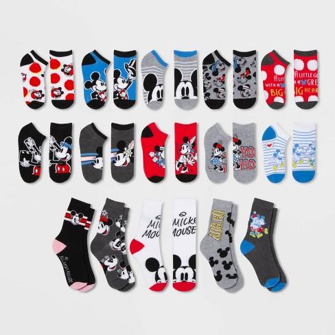 Mickey Mouse & Friends 15 Days of Women's Socks Advent Calendar