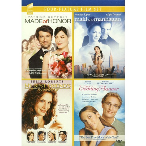 Made of Honor/Maid in Manhattan/My Best Friend Wedding/The Wedding Planner (DVD) - image 1 of 1