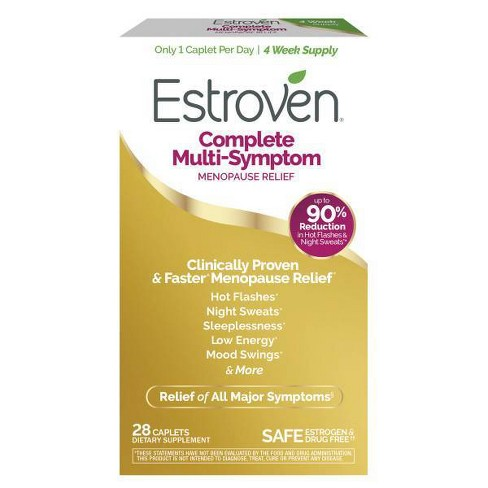 Estroven Complete Menopause Relief Caplets - image 1 of 4