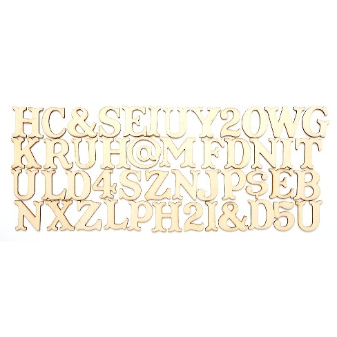 hand made modern wooden letters captain howdy target