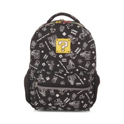 """Nintendo Super Mario Woo Hoo 16"""" Kids' Backpack"""