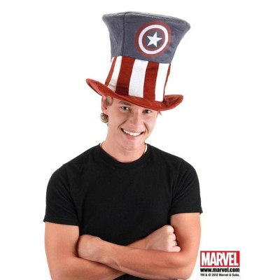 Elope Captain America Adult Costume Top Hat