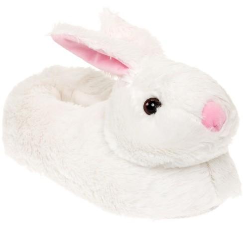 FUNZIEZ! - Women's Classic Bunny Animal Slippers - image 1 of 4
