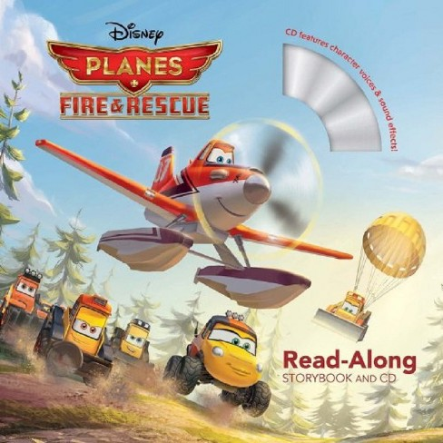 Planes: Fire & Rescue (ReadAlong Storybook & CD): Planes: Fire & Rescue (Paperback) - image 1 of 1