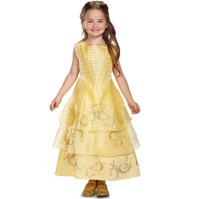 Beauty and the Beast Belle Ball Gown Deluxe Toddler/Child Costume
