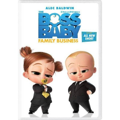 Boss Baby: Family Business (DVD)