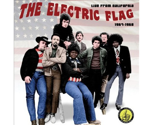 Electric Flag - Live In California:1967-1968 (CD) - image 1 of 1