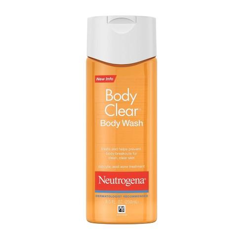 Neutrogena Body Clear Acne Body Wash with Glycerin - 8.5 fl oz - image 1 of 4