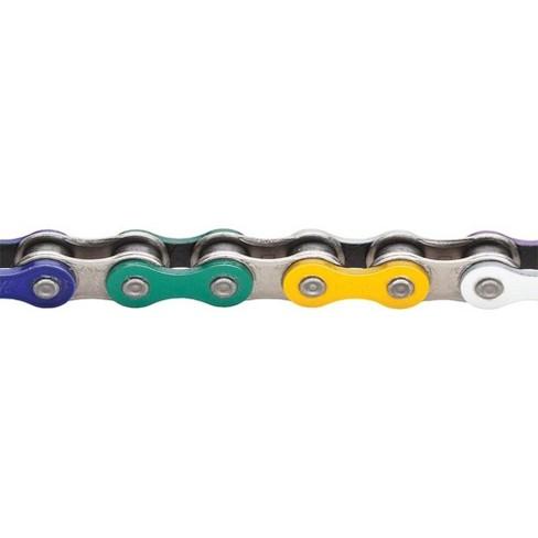 """1//8/"""" 112 Links KMC Z510HX Chain Silver"""