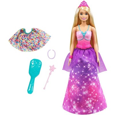 ​Barbie Dreamtopia 2-in-1 Princess to Mermaid Fashion Transformation Doll