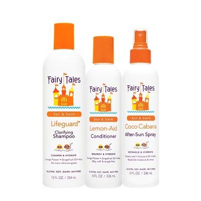 Fairy Tales Sun & Swim Clarifying Shampoo + Conditioner and After-Sun Spray - 48 fl oz