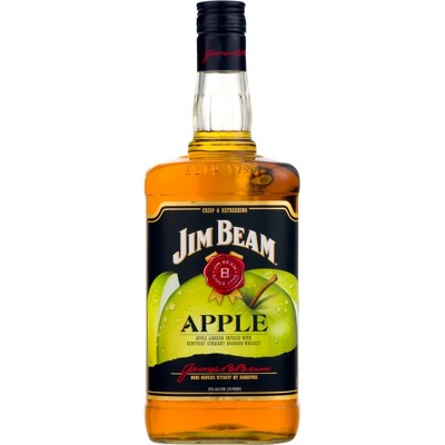 Jim Beam Apple Bourbon Whiskey - 1.75L Bottle