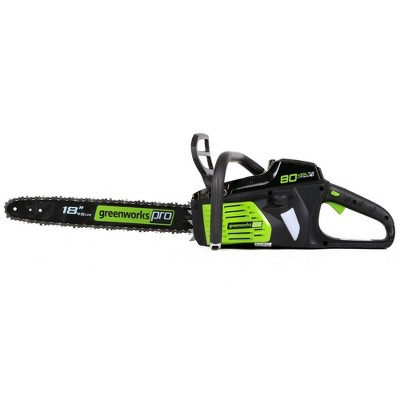 Greenworks GCS80450 80V Lithium-Ion DigiPro 18 in. Chainsaw (Tool Only)