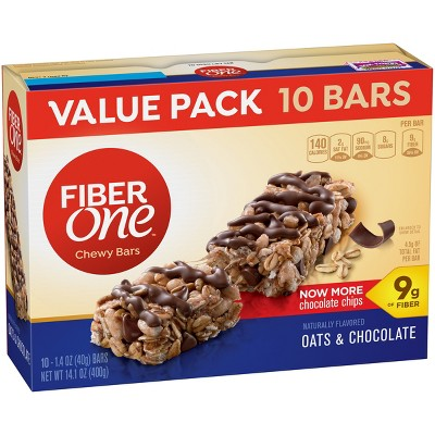 Granola & Protein Bars: Fiber One Chewy