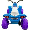 Kid Motorz 12V Monster Quad Powered Ride-On - Blue - image 3 of 4