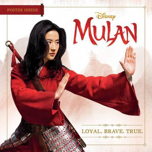 Disney Mulan: Loyal. Brave. True. and Mulan Poster   Best Gifts for Mulan Fans