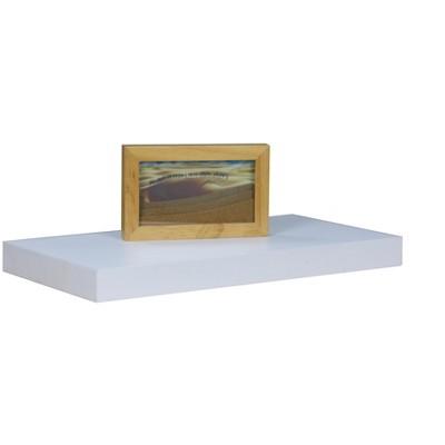 "Home Basics 18"" Wood Floating Shelf"