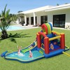 Costway Inflatable Kid Bounce House Slide Climbing Splash Pool Jumping Castle - image 2 of 4