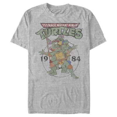 Men's Teenage Mutant Ninja Turtles 1984 Heroes T-Shirt